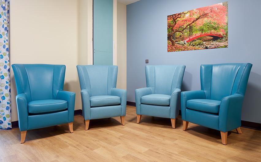 Hafan Y Coed Mental Health Unit Furniture Case Study